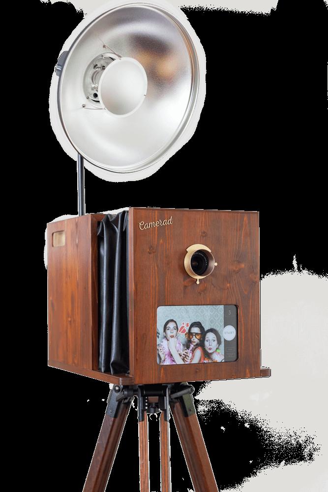 Fotobox mieten Wien – Camerad Photobooth